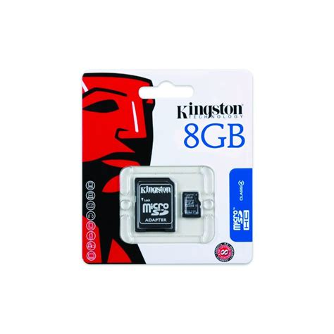 Micro Sd 8gb Bekas micro sd hc class 4 8gb kingston memory card