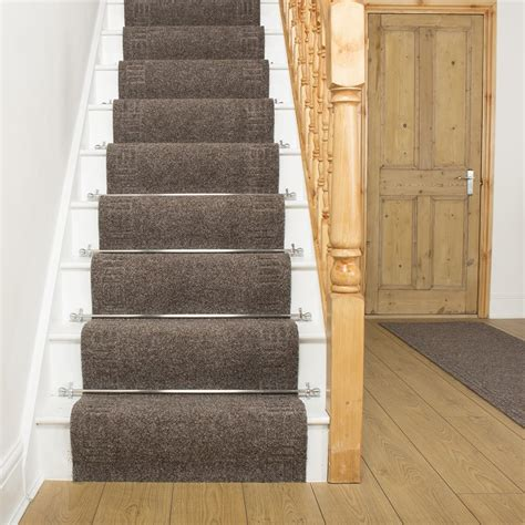 Which Carpet For Stairs - mega brown stair carpet runner stair runner stair carpet