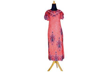 Gamis Rumahan Katun Lokal model baju daster batik bisnis baju murah surabaya