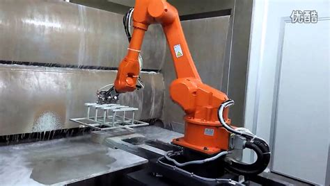 spray painting by robot 6 axis spray painting robot for electronic industry