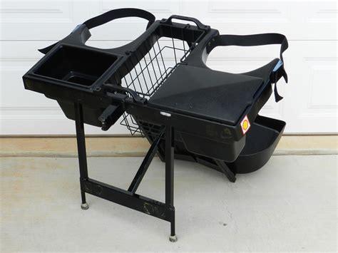 Golf Cart Bag Rack Attachment by Linksback Gem Car Golf Bag Carrier Rack Mount