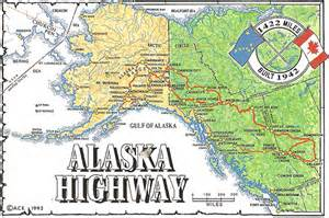 road map alaska usa alaska highway usa canada flickr photo