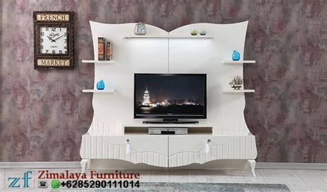 Tv Warna Putih bufet tv modern warna putih zimalaya furniture