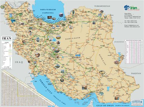 map of iran cities maps of iran and the capitol cities of each province