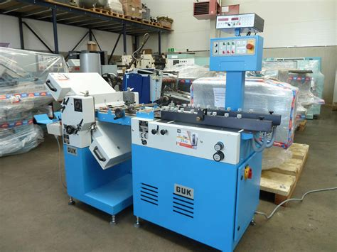 Paper Folding Machine For Sale - folders used finishing machines guk fa 36 4 paper folding