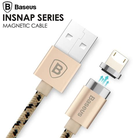 Magnetic Cable Charging Sync baseus magnetic charging cable micro usb cable adapter data sync for iphone 7 6s plus 5s se