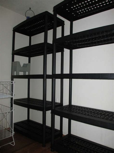great deal on resin shelving units costco on ymmv