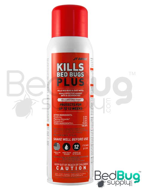 jt eaton bed bug spray jt eaton kills bed bugs plus spray aerosol