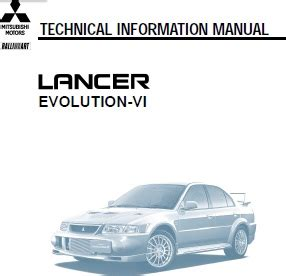 small engine service manuals 2011 mitsubishi lancer evolution electronic toll collection repair manuals mitsubishi evolution 6 cp9a repair manual