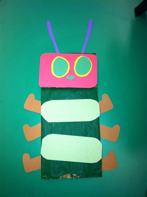 hungry caterpillar sock puppet pin by elaine on ys ideas