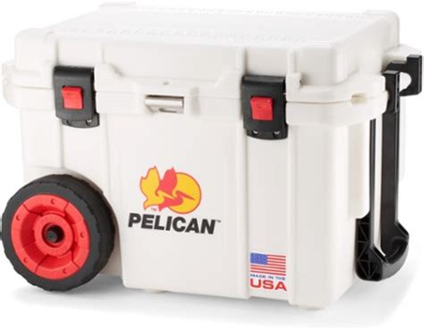 pelican 45 qt cooler accessories pelican elite wheeled cooler 45 qt rei