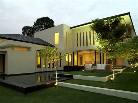 lotus house architecture residential modern design house