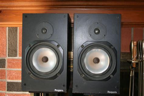 lendendary rogers ls4a 2 bookshelf speakers for sale