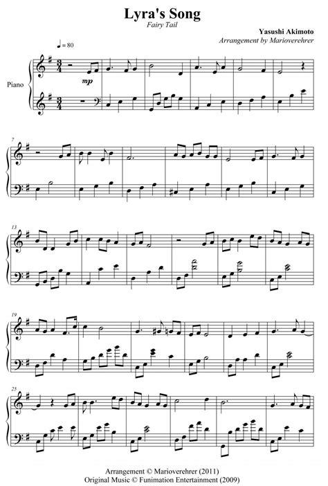 Partitions de Fairy Tail - Le petit bazar d'Asclépsia