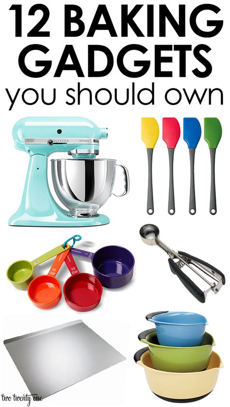 my 10 must have kitchen items and hey most of them would fit into a christmas stocking 12 baking gadgets you should own