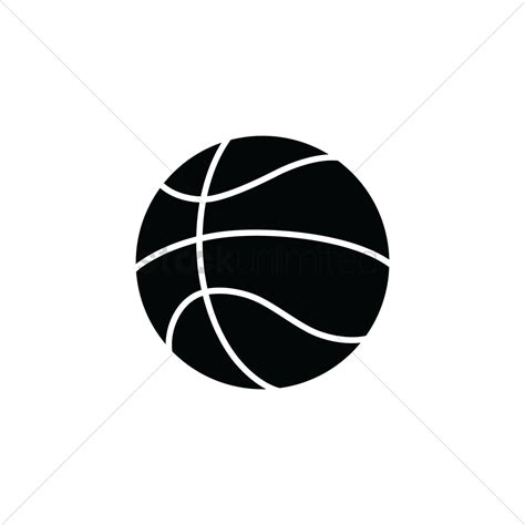 Basketball Clipart Vector Basketball Vector Image 1979509 Stockunlimited