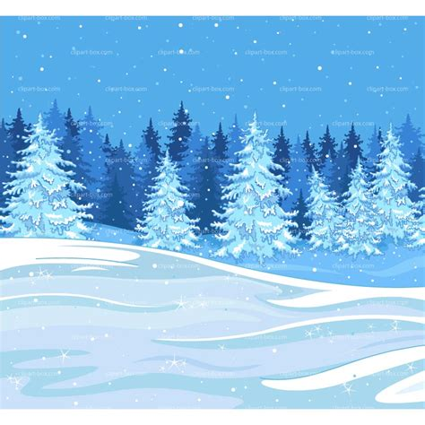 winter clip winter forest clipart clipground