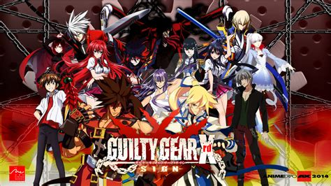 anime expo 2014 guilty gear xrd wallpaper by