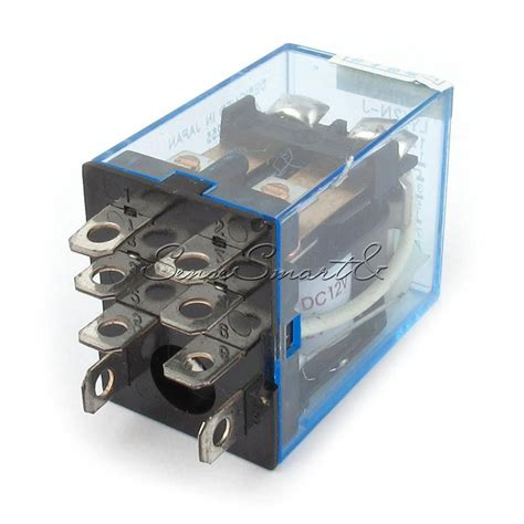 Relay Mk2p 12 Volt 8 Pin new 12v dc coil power relay ly2nj dpdt 8 pin hh62p jqx 13f with socket base ebay