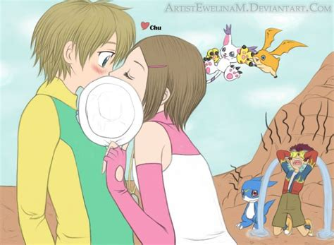 Best Images About Takari On Pinterest Canon Digimon Adventure And Posts