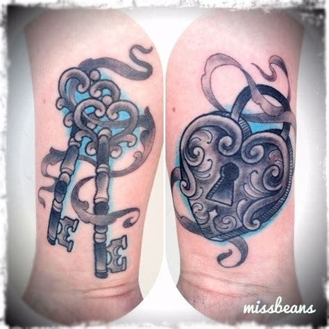 best 25 key tattoo designs collection of 25 skeleton key n lock design