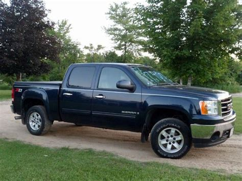 how make cars 2007 gmc sierra 1500 security system purchase used 2007 gmc sierra 1500 slt crew cab 4x4 in carson city michigan united states for