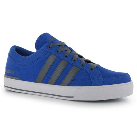 adidas mens neo skool canvas trainers lace casual sports