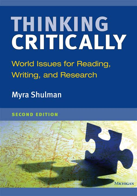 thinking critically thinking critically second edition