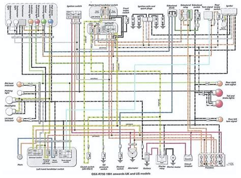 gsxr750 wiring diagram suzuki gsx r motorcycle forums gixxer