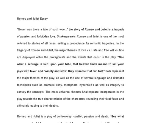 main theme of romeo and juliet story essay of romeo and juliet love docoments ojazlink