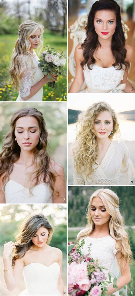 wedding hairstyles down pinterest wedding hairstyles unavoidable trend 2 wear your hair