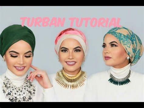 tutorial shawl turban style hijab tutorials 4simple styles for school لفات حجاب