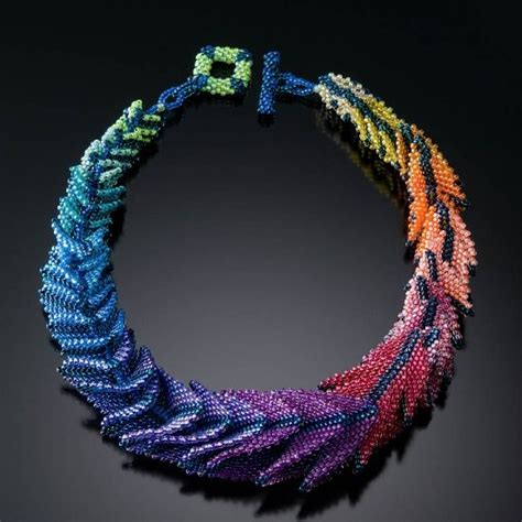 seed bead artists jo baumann s seed bead artistry daily muse