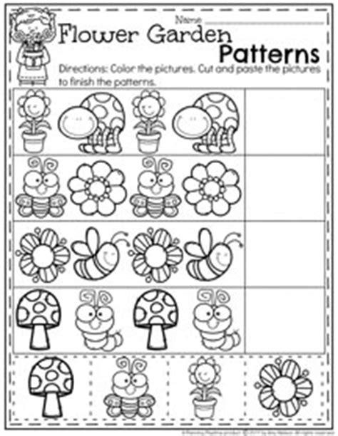 flower pattern math may preschool worksheets planning playtime