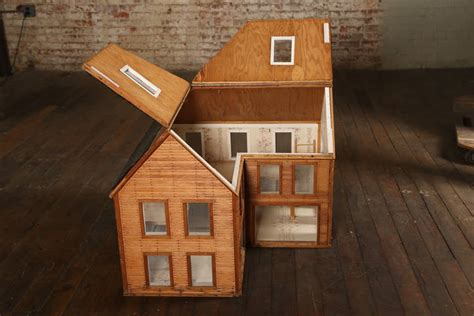 wood doll house for sale vintage wooden doll house wood architectural model for sale at 1stdibs