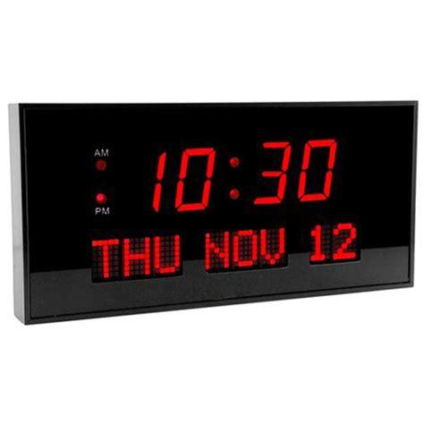digital wall clock amazon low vision clocks talking clocks voice activated clocks