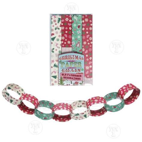 Paper Chains For - paper chains toys seasonal toys