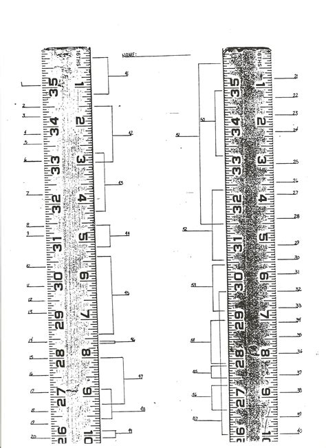 printable ruler with fractions fractions on a ruler worksheet cracking the ruler code