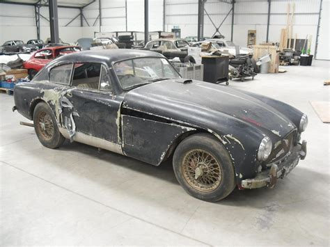 rare aston martin rare barn find aston martin db 2 4 to be restored just