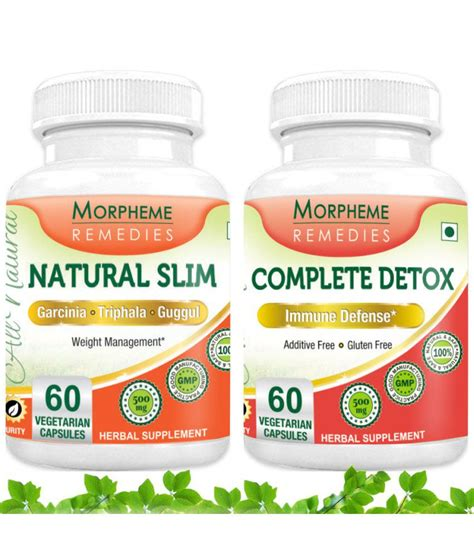 Restorslim Complete Cleanse And Detox morpheme slim complete detox for complete