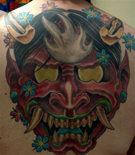oni tattoo jepang tattoo design japanese mask tattoo