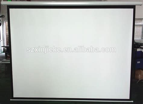 120 inch motorized projector screen high definition motorized electric 120 inch projector