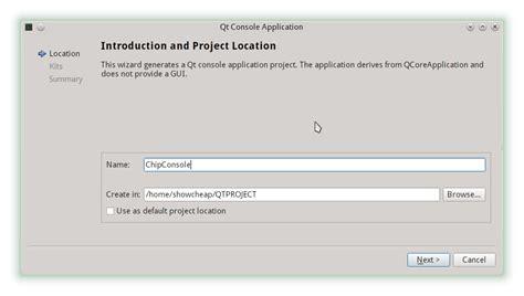tutorial c qt tutorial qt c 2 membuat project sucipto