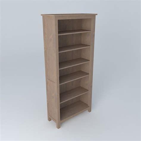 hemnes bookcase free 3d model max obj 3ds fbx stl skp