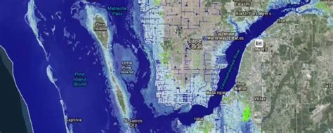 rising texas map rising sea levels pose potential threat to swfl coast wink news