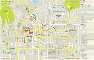Los Angeles Tourist Map by Maps Update 21051488 Hollywood Tourist Attractions Map