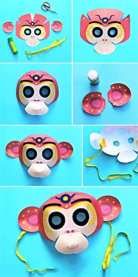 new year craft ideas monkey 1000 ideas about monkey template on hanger