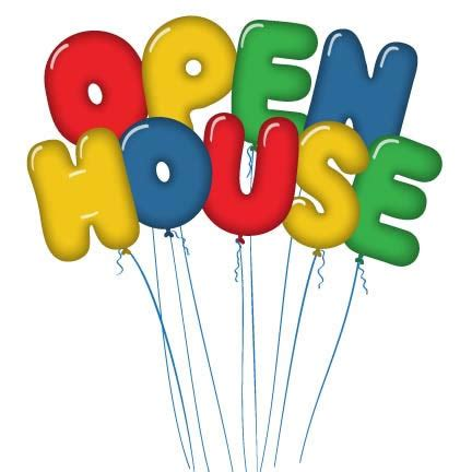 Image result for open house clip art