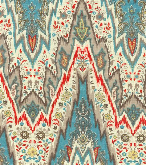 Bray Upholstery by Home Decor Print Fabric Williamsburg Bray Flamestitch