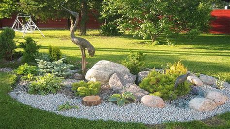 Rock Garden Designs Ideas Beautiful Front Yard Rock Garden Landscaping Ideas 23 Chsbahrain
